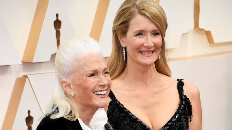 Laura Dern und Diane Ladd bei der Oscar-Verleihung 2020.