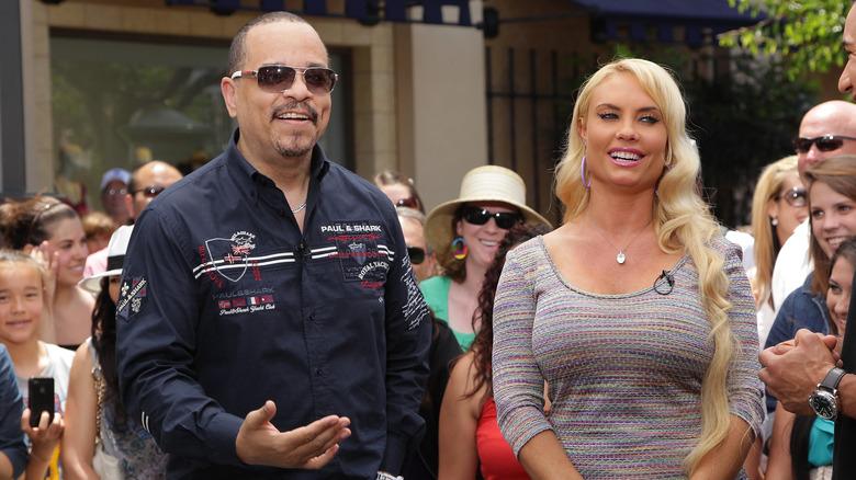 Ice-T und Coco Austin bei einer Veranstaltung