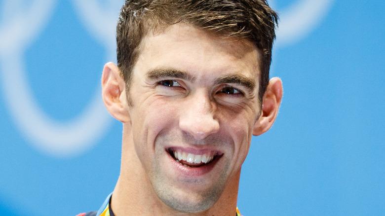 Michael Phelps lächelt
