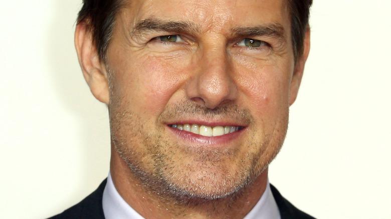Tom Cruise lächelt