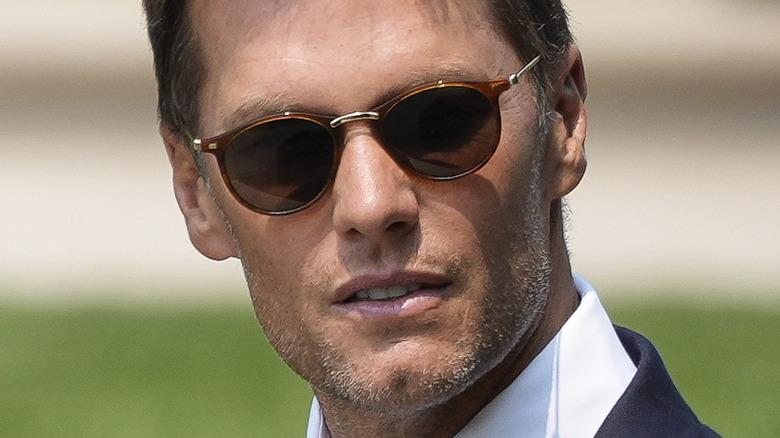 Tom Brady mit Sonnenbrille im Weißen Haus