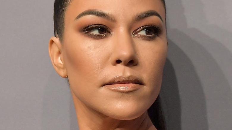 Kourtney Kardashian auf dem roten Teppich