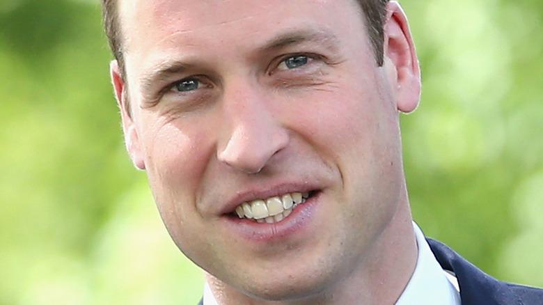 Prinz William blaue Augen