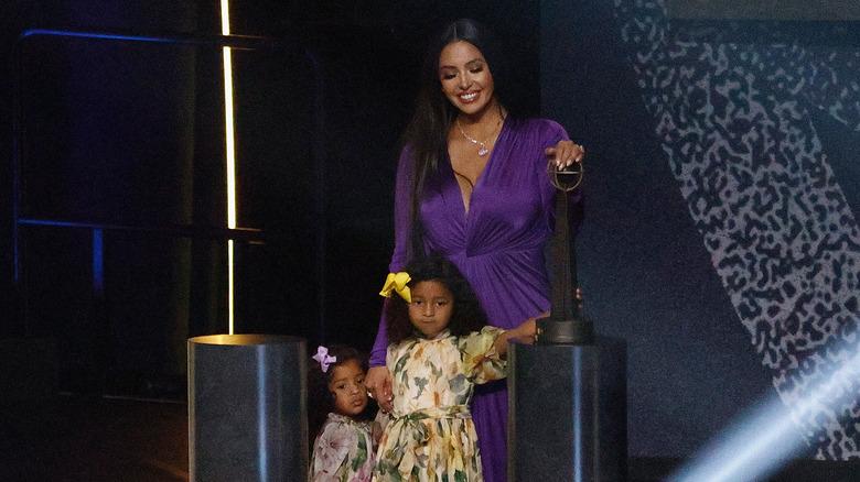 Vanessa Bryant mit den Töchtern Bianka und Capri