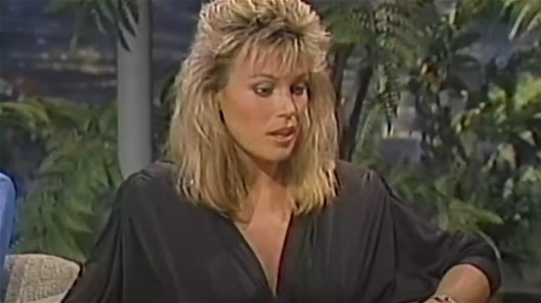 Vanna White in einer Talkshow