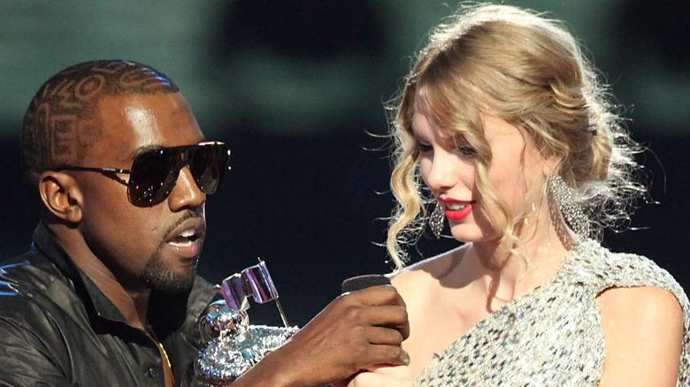 Kanye West unterbricht Taylor Swifts Rede