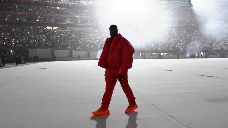 """Kanye West bei einer """"Donda""""-Hörparty"""