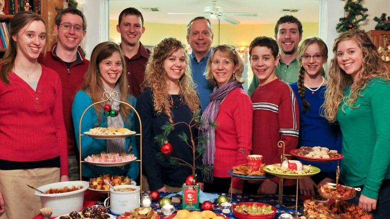 Die Familie Burnett zu Weihnachten