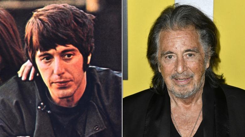 Junge und alte Al Pacino Bildspaltung