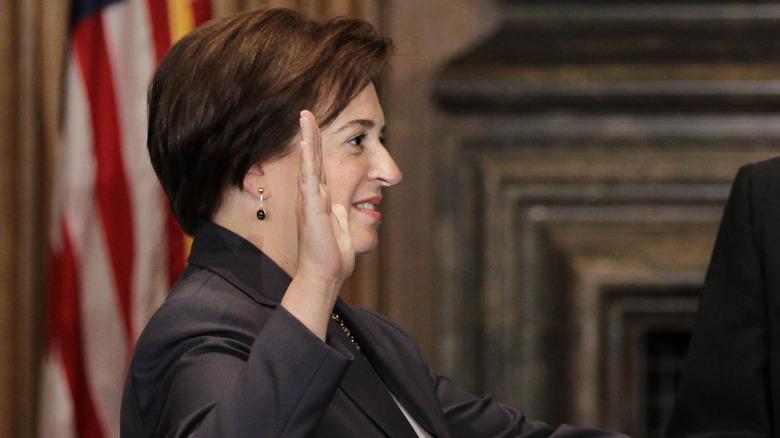 Elena Kagan wird vereidigt