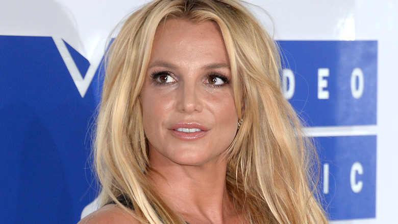 Britney Spears langes Haar
