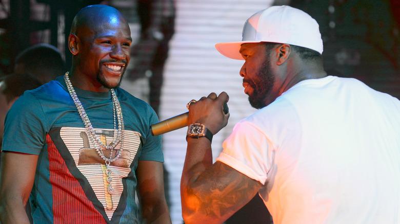 Floyd Mayweather und 50 Cent