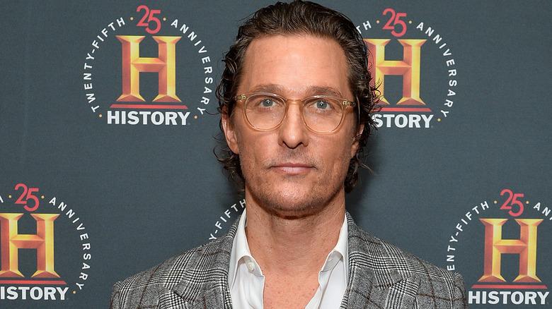 Matthew McConaughey bei einem History Channel-Event