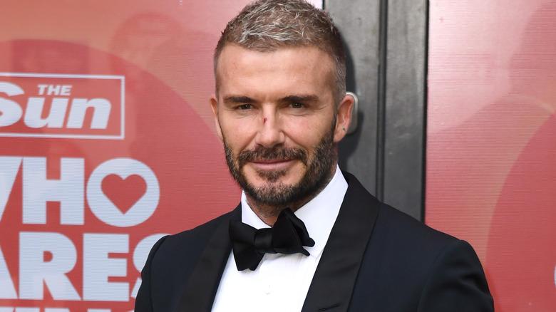 David Beckham bei einer Veranstaltung