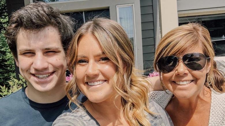 Connor Chandler, Brittany Chandler, Caryn Chandler,
