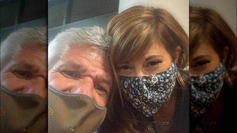 Matt Roloff und Caryn Chandler in Masken
