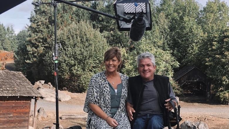 Caryn Chandler und Matt Roloff bei Dreharbeiten