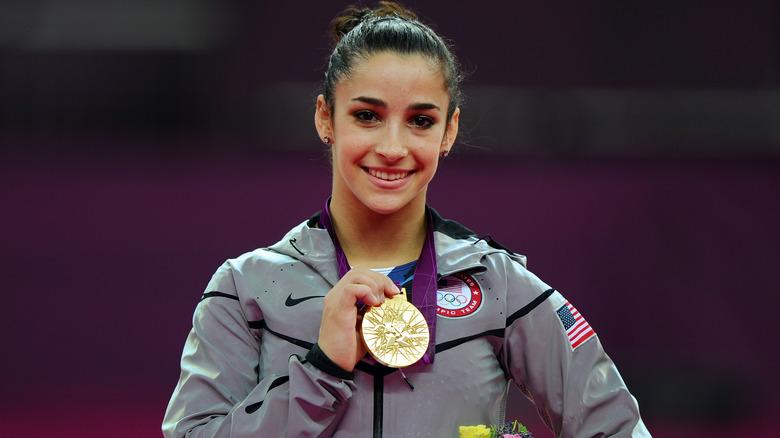 Aly Raisman-Goldmedaille