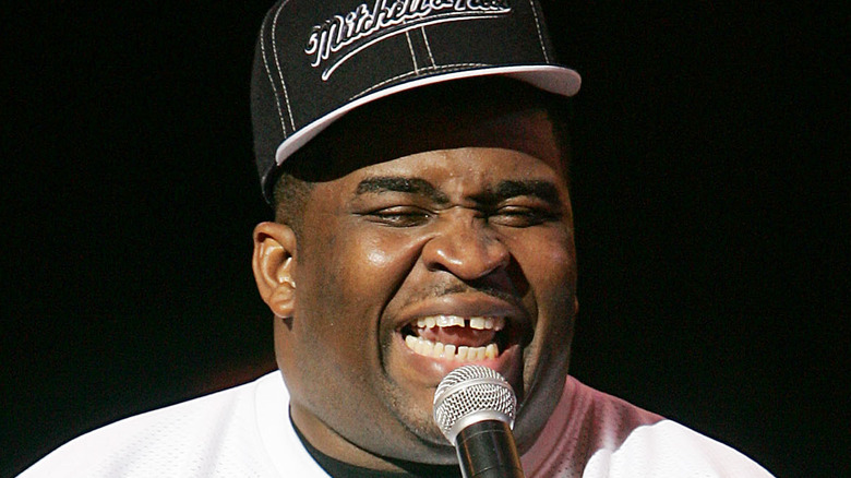 Patrice O'Neal macht Stand-Up-Comedy