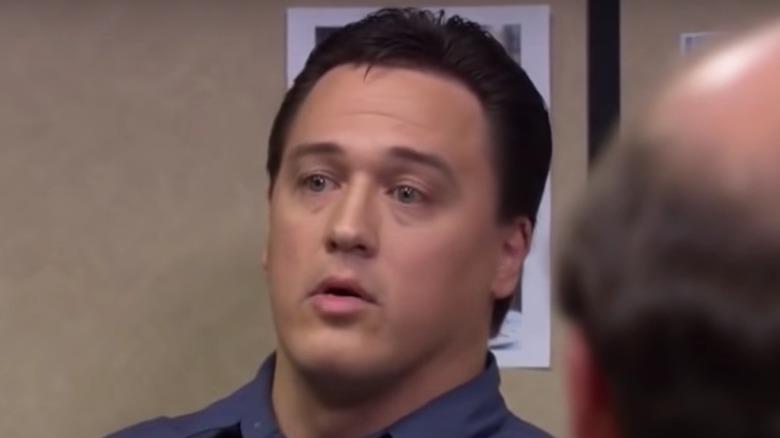Marcus York als Schauspieler im Büro
