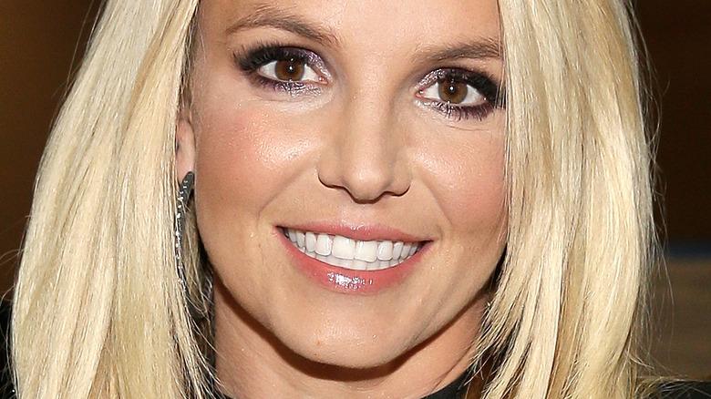 Britney Spears braune Augen