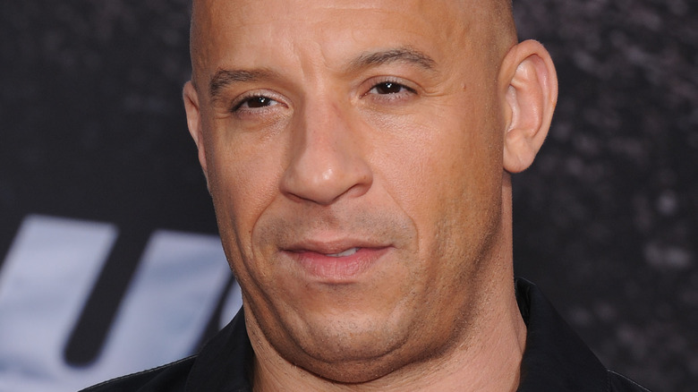 Vin Diesel posiert