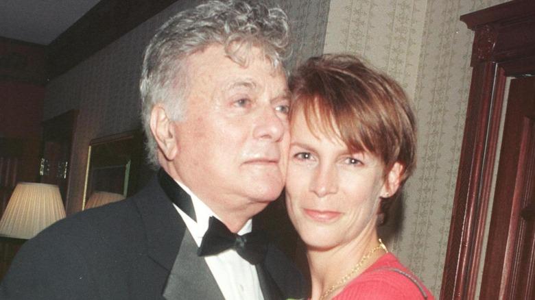 Tony und Jamie Lee Curtis im Jahr 1998.
