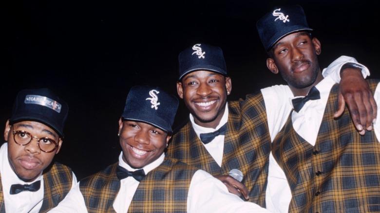 Boyz II Männer mit Plaid