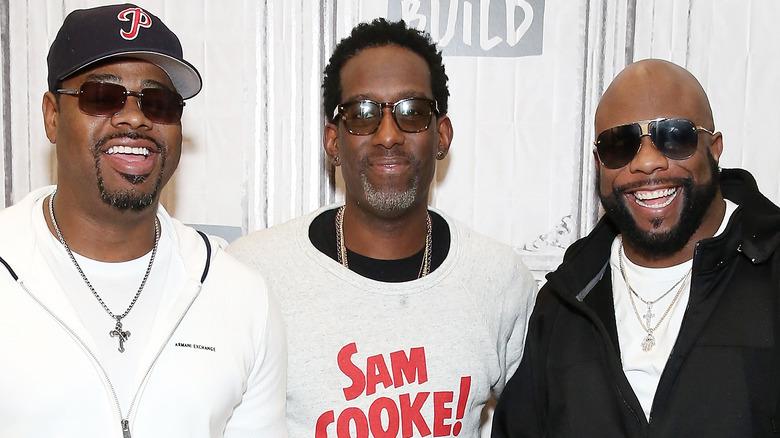 Boyz II Männer lächeln